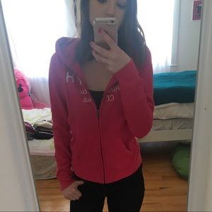 Cozy Pink Gilly Hicks Hoodie